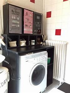 Meuble Rangement Salle De Bain But : meuble sur mesure salle de bain quickmeuble ~ Dallasstarsshop.com Idées de Décoration