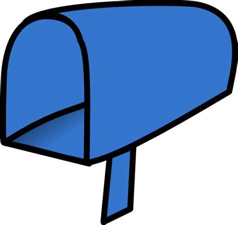 Mailbox Clipart Blue Mailbox Open Clip At Clker Vector Clip
