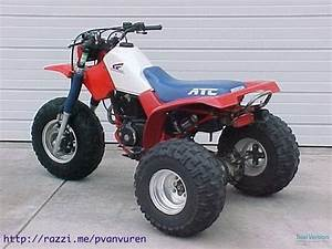 Classic Honda Atc 350 Motorcycle    I Had One Just Like