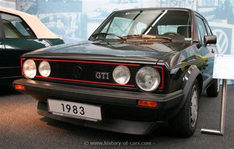 volkswagen golf 1980 vw 1983 golf gti pirelli 2door hatchback the history of
