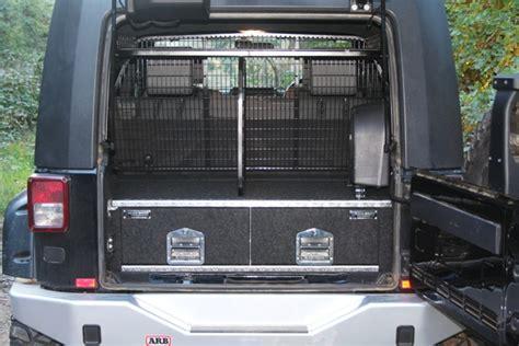 tiroirs de coffre jeep rubicon black widow