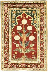 Mughal other indian carpets in the metropolitan museum for Indian carpet designs