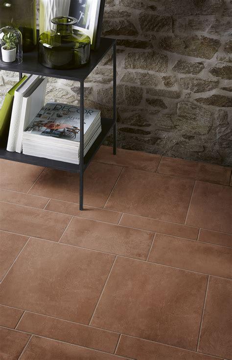 pavimenti finto cotto gres porcellanato effetto cotto e cemento marazzi