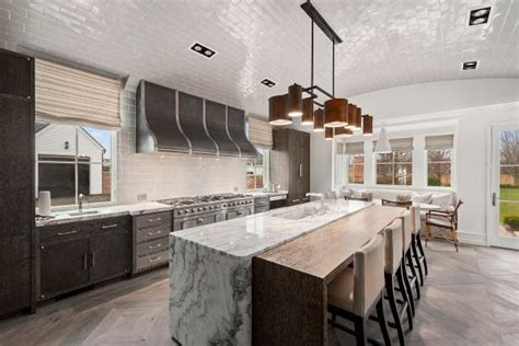 kitchen design ny spacious contemporary kitchen with barrel shaped ceiling 4401