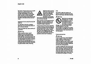 Stihl Ts 400 Cut Off Saw Miter Circular Saw Owners Manual