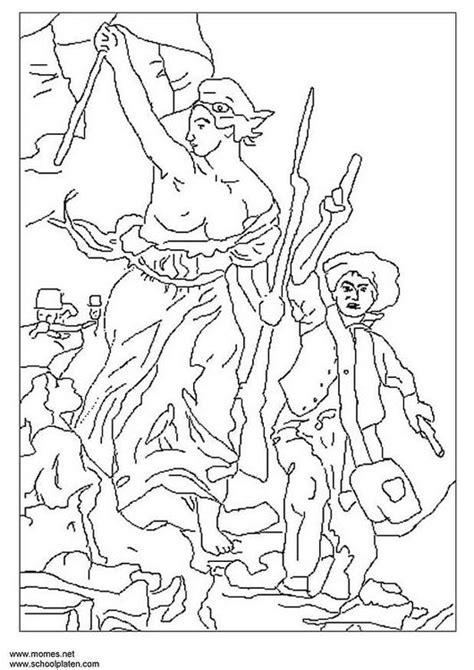 Franse Lelie Kleurplaat by Kleurplaat Franse Revolutie Afb 6756