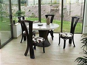 Mobilier De Veranda : le rotin en veranda paperblog ~ Teatrodelosmanantiales.com Idées de Décoration