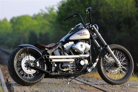 New Build Old-school Style Softail Bobber From Southeast