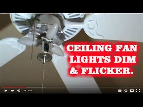 how to fix a ceiling fan light how to fix blinking ceiling fan lights kichler fan how