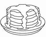 Pancakes Pancake Coloring Colouring Stack Drawing Cookie Template Sausage Cake Coloringkidz Cakes Super Sketch Cookies Slice Searches Recent sketch template