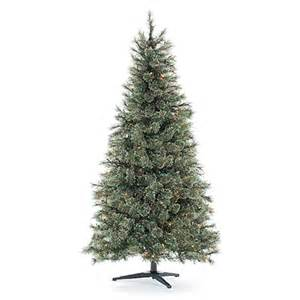view 6 pre lit artificial christmas tree deluxe cashmere with multi colored lights deals at