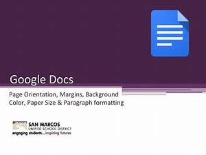 Google docs page orientation youtube for Google docs page orientation