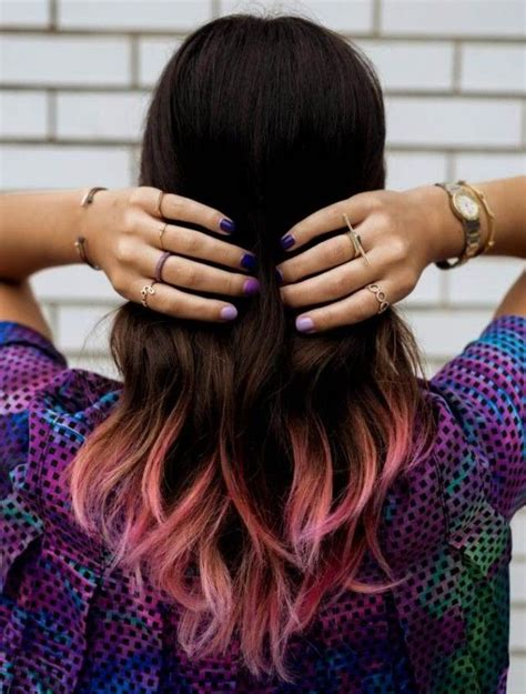 25 Best Ideas About Dip Dye Bob On Pinterest Dip Dye
