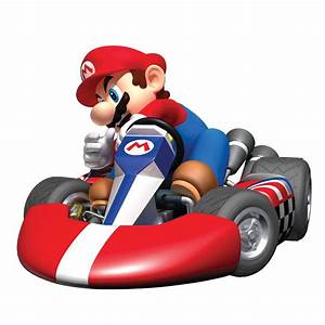 Mario Kart Wii Giant Wall Sticker Stickers For Wall com