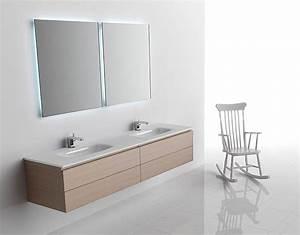 Meuble salle de bain artelinea monolite collection atout kro for Meuble salle de bain linea