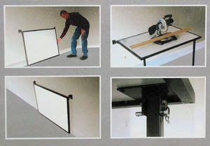 werkbank klappbar tisch mit mdf wand klapptisch metalltisch 200 kg belastbar for the home