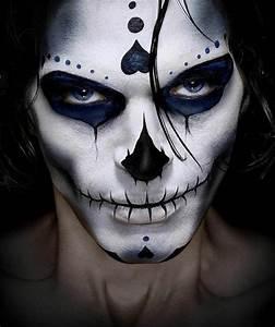Maquillage Squelette Facile : le maquillage halloween homme facile en plusieurs photos ~ Dode.kayakingforconservation.com Idées de Décoration