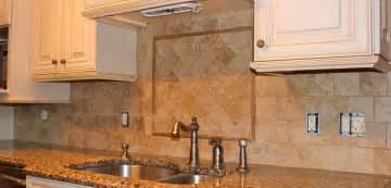 Kitchen Backsplash Tumbled Marble Kitchen Backsplash New Jersey Custom Tile