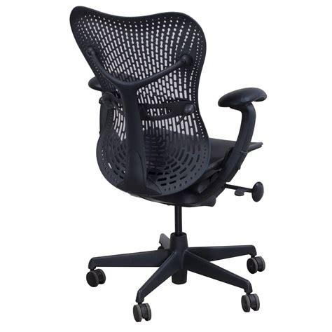 Herman Miller Mirra Chair Used by Herman Miller Mirra Used Task Chair Graphite