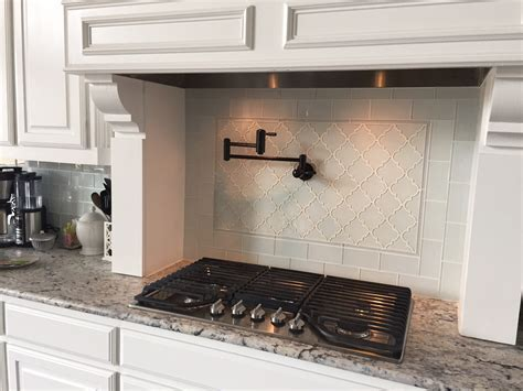 White Arabesque Glass Tile   Tilehub