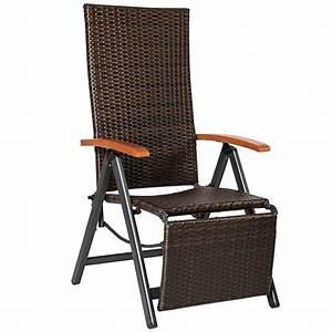 relaxsessel poly rattan aluminium gartenstuhl mit With französischer balkon mit garten relaxsessel