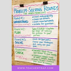 Problem Solving Rounds For Math Word Problems  Teacher Trap