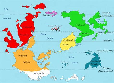 Carte Des Mers Dans Le Monde by Cartes Du Monde D Algaroth