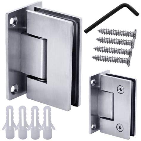 shower door hinges 1 stainless steel glass door hinge bathroom shower glass