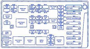 Daewoo Leganza 2006 Engine Fuse Box  Block Circuit Breaker