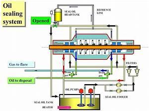Gas Compressor Seal Oil System