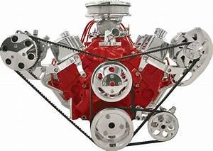 Billet Specialties Polished Alternator  U0026 Ac Compressor