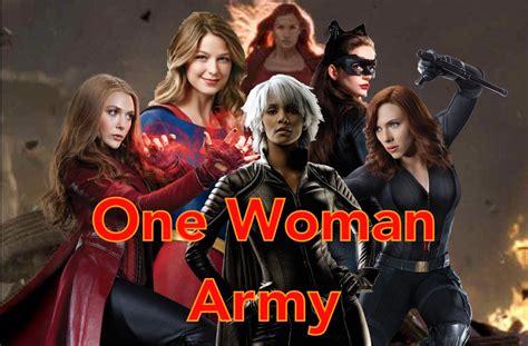 Dc & Marvel Women  One Woman Army Youtube