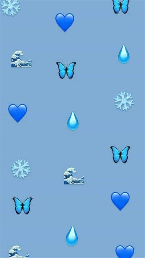 pin  nina  blue blue   emoji wallpaper