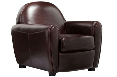 fauteuil club simili cuir broadway fauteuils design pas cher