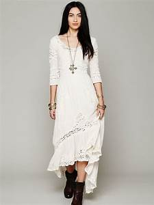 lyst free people mexican wedding dress in white With free people wedding dress