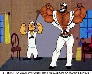 Bluto Spandex Muscle Shirt By Ctlftr On Deviantart