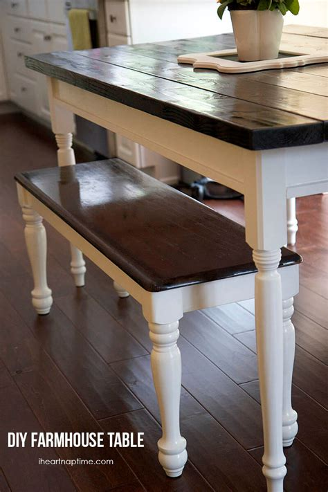 how to make a country kitchen table diy farmhouse kitchen table i nap time 9477