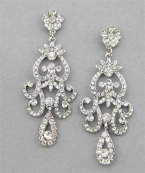Chandelier Earrings Wedding by Best 25 Bridal Chandelier Earrings Ideas On