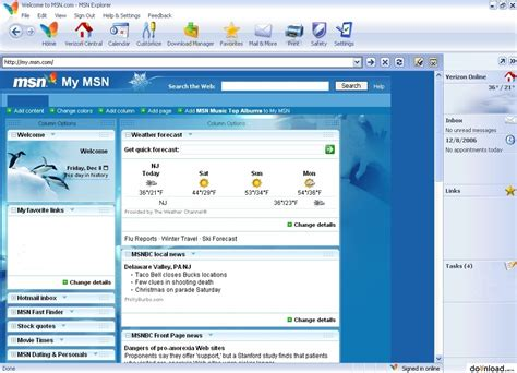 msn explorer  web browsers