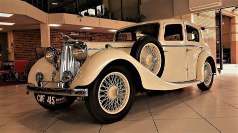 jaguar ss coach built saloon white lady