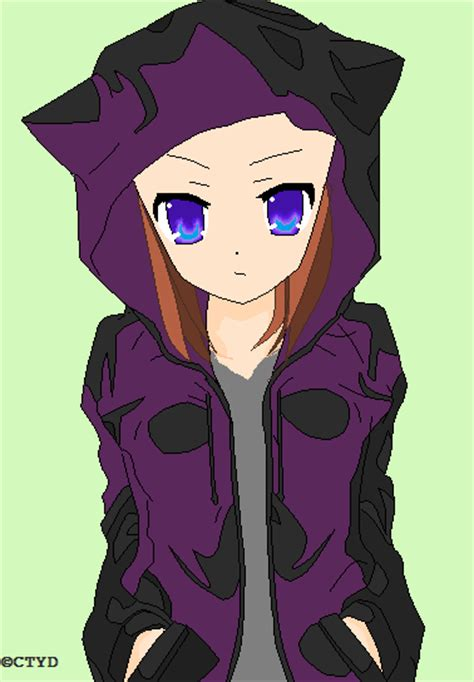 anime girl with jacket by blackwings512 on deviantart