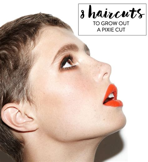 How To Cut A Pixie Hairstyle by How To Grow Out A Pixie Cut Charmingly Styled