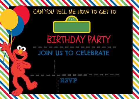 sesame invitations template how to make a sesame digital invitation includes free template ellierosepartydesigns