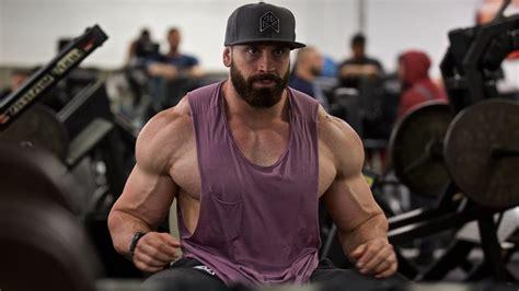bradley martyn chest arms crazy pump beast motivation