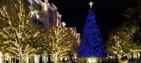 instaliling christmas tree lights commercial tree installation