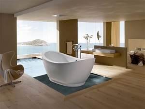Chaise De Salle De Bain : 1001 mod les inspirants d 39 une salle de bain avec parquet ~ Teatrodelosmanantiales.com Idées de Décoration