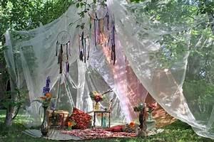 Decoration Mariage Boheme : d co mariage boh me chic en 30 photos qui respirent la joie de vivre ~ Melissatoandfro.com Idées de Décoration