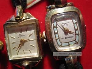 Vintage Uhren Damen : vintage dugena laco 3 x uhren damen und herrenuhren f r fachmann ~ Watch28wear.com Haus und Dekorationen
