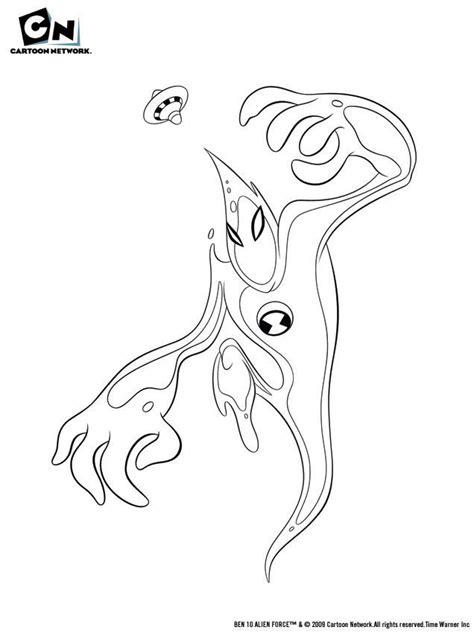 Ben Ten Alien Force Coloring Pages Az