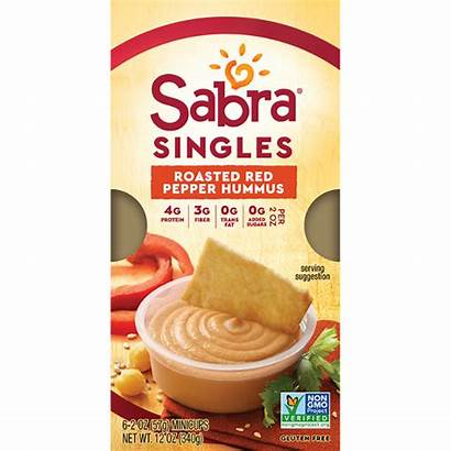 Hummus Pepper Roasted Singles Sabra